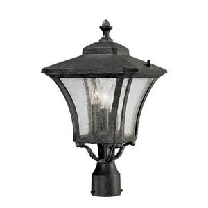 Tuscan - Three Light Post