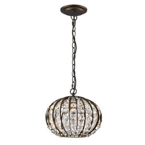 "Olivia - 8.25"" One Light Pendant"