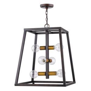 Tiberton - Six Light Pendant