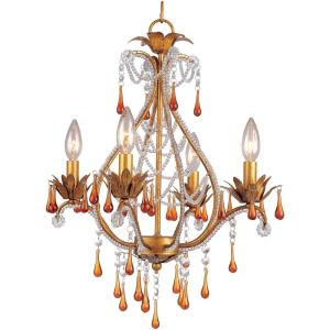 Josephine - Four Light Mini-Chandelier