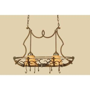 Wentworth - Two Light Island Fixture