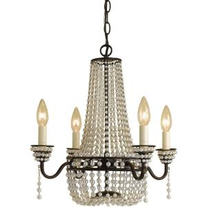 Parlor - Four Light Mini-Chandelier