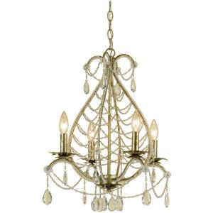 Belinda - Four Light Mini-Chandelier