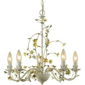 Star Flower - Five Light Chandelier