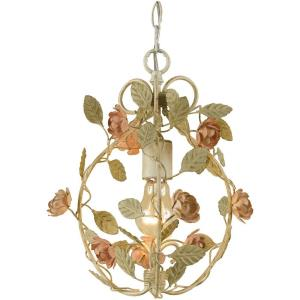 Ramblin' Rose - One Light Mini-Chandelier