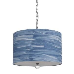 Water Color Coast - Three Light Pendant
