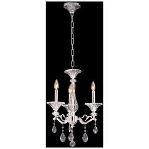 Vasari - Three Light Chandelier