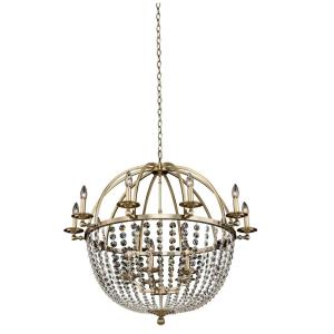 Pendolo - 15 Light 10 Arm Orb Chandelier