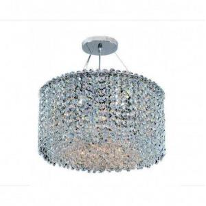 Milieu Metro - Six Light Semi-Flush Mount