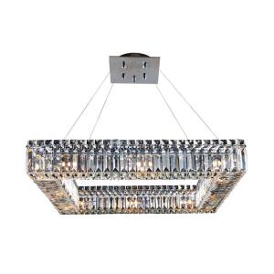 Quantum Quadro - Twelve Light Square Pendant