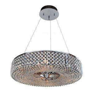 Arche - Nine Light Round Pendant