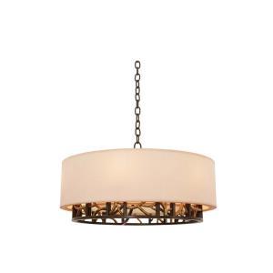 Hudson - Six Light Pendant