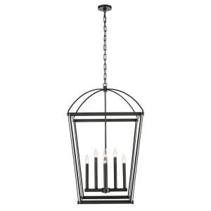 Manor - 8 Light Pendant