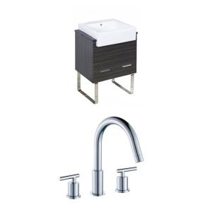 Xena Farmhouse - 25.25 Inch Floor Mount Vanity Set For 3H8-in. Drilling with Top