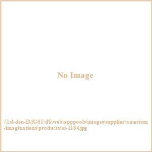 Vee - 29.5 Inch Rectangle Wood Mirror