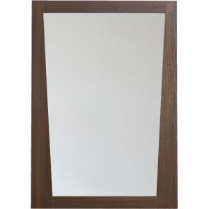 "Vee - 23.5"" Rectangle Wood Mirror"