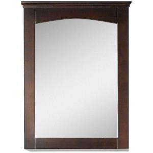 Shaker - 24 Inch Rectangle Wood Mirror