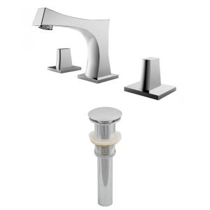 "10.5"" Bathroom Faucet Set with Drain Included"