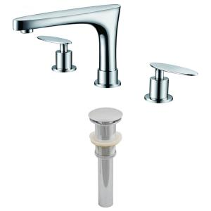 "13.5"" Bathroom Faucet Set with Drain Included"