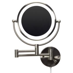 20.83 Inch Round LED Wall Mount Magnifying Mirror
