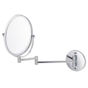 16.95 Inch Oval Wall Mount Magnifying Mirror