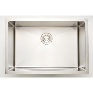 20 Inch Undermount Kitchen Sink For Deck Mount Center Drilling