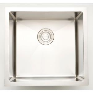 18 Inch Undermount Kitchen Sink For Deck Mount Center Drilling