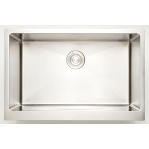 32 Inch Undermount Kitchen Sink For Wall Mount Center Drilling
