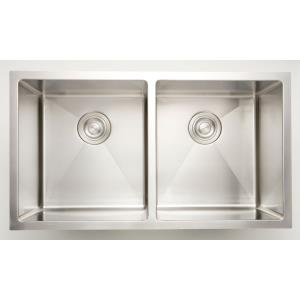 34 Inch Undermount Kitchen Sink For Wall Mount Center Drilling