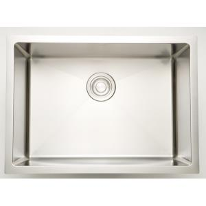 27 Inch Undermount Kitchen Sink For Deck Mount Center Drilling