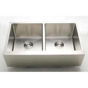 36 Inch Undermount Kitchen Sink For Wall Mount Center Drilling