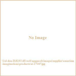 """29"""" Undermount Kitchen Sink For Deck Mount Center Drilling"""