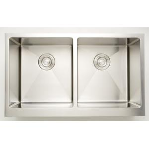 31 Inch Undermount Kitchen Sink For Deck Mount Center Drilling