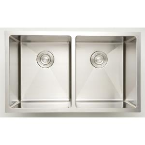 "32"" Undermount Kitchen Sink For Wall Mount Center Drilling"