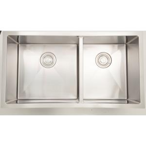 "33"" Undermount Kitchen Sink For Wall Mount Center Drilling"