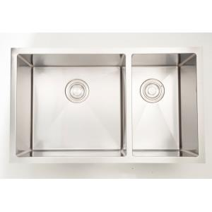 """32"""" Undermount Kitchen Sink For Deck Mount Center Drilling"""