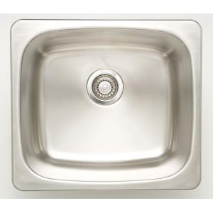 20 Inch Undermount Kitchen Sink For Wall Mount Center Drilling