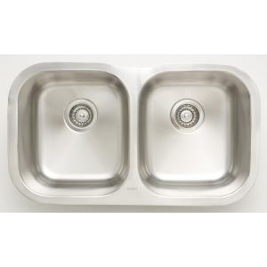 "29.5"" Undermount Kitchen Sink For Wall Mount Center Drilling"
