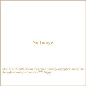 """29.625"""" Undermount Kitchen Sink For Deck Mount Center Drilling"""