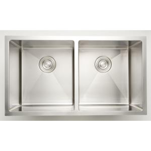 32 Inch Undermount Kitchen Sink For Deck Mount Center Drilling