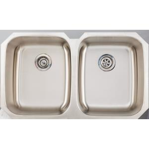 38.63 Inch Undermount Kitchen Sink for Wall Mount Center Drilling