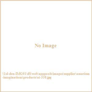 Tiffany - 24 Inch Rectangle Wood Mirror