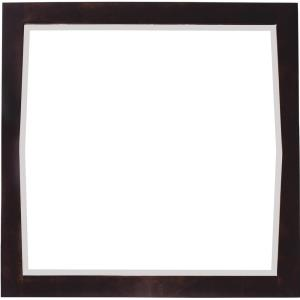 Roxy - 34 Inch Square Wood Mirror