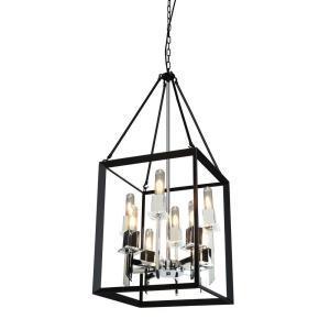 "Vineyard - 40"" Eight Light Chandelier"