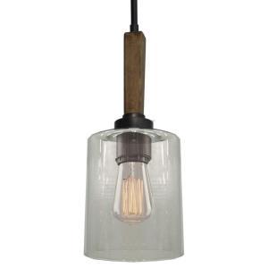 Legno Rustico - One Light Pendant