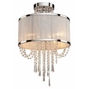 Valenzia - Four Light Semi-Flush Mount
