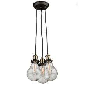 Edison - Three Light Chandelier