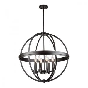 Roxbury-8 Light Chandelier in Transitional Style-26 Inches Wide by 26 Inches High