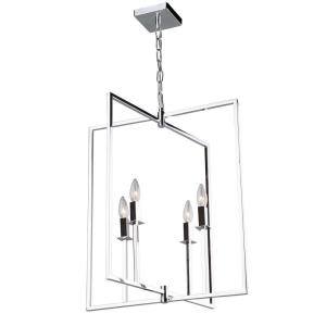 "Allston - 20"" Four Light Chandelier"