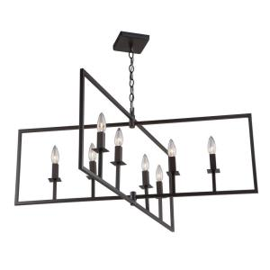 "Allston - 35.5"" Eight Light Chandelier"